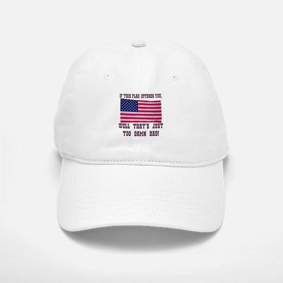 Flag3 Baseball Baseball Cap