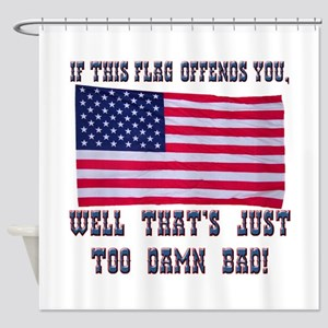 Flag3 Shower Curtain