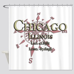 Chicago Bull Shower Curtains
