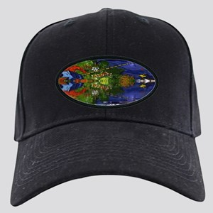 Boy Cane Fishing Black Cap