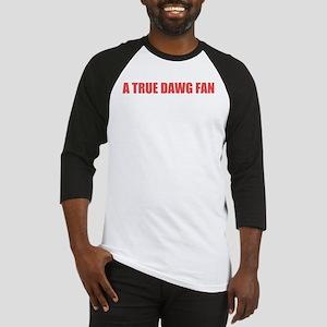 A True Dawg Fan Baseball Jersey
