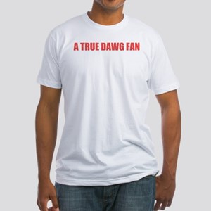 A True Dawg Fan Fitted T-Shirt