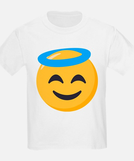 Angel Smiley Emoji T-Shirt