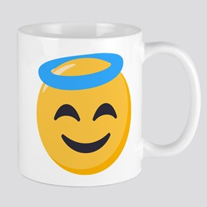 Angel Smiley Emoji 11 oz Ceramic Mug