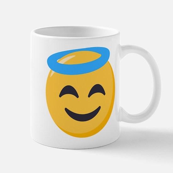 Angel Smiley Emoji Mug