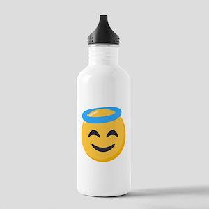 Angel Smiley Emoji Stainless Water Bottle 1.0L