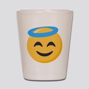 Angel Smiley Emoji Shot Glass
