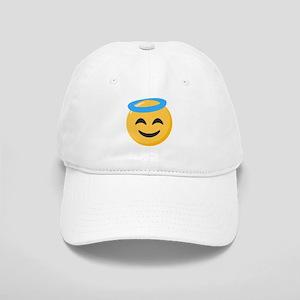 Angel Smiley Emoji Cap