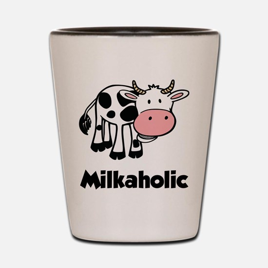 Milkaholic Shot Glass
