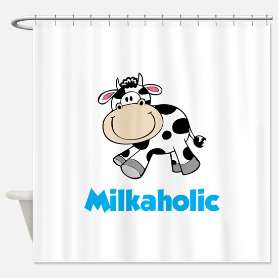 Milkaholic Shower Curtain