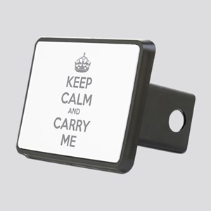 Keep calm and carry me Rectangular Hitch Cover