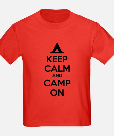 Keep calm and camp on T