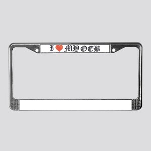 OEB License Plate Frame