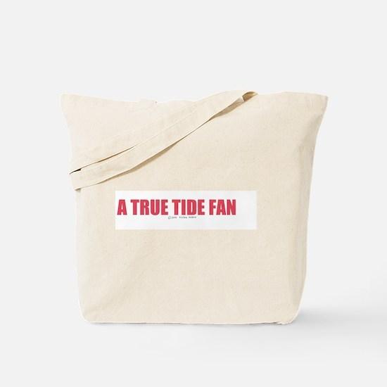 A True Tide Fan Tote Bag
