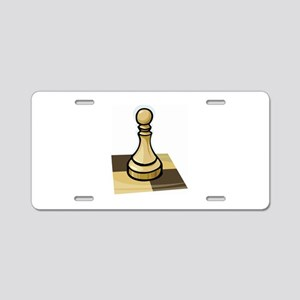 Chess Aluminum License Plate