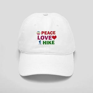Peace Love Hike Designs Cap