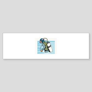 Diving Sticker (Bumper)