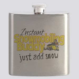 Instant Snowmobiling Buddy Flask