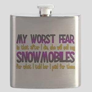 Cheap Snowmobiles Flask
