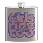 Girls Ride Too Flask