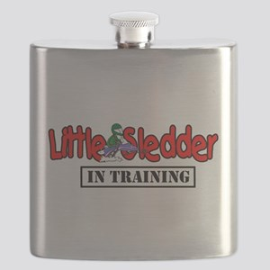 Little Sledder in Training Flask