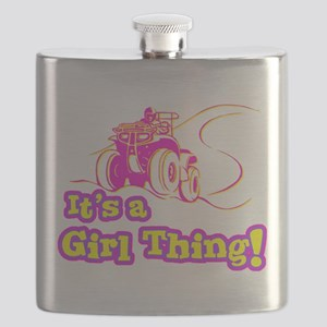 4x4 Girl Thing Flask