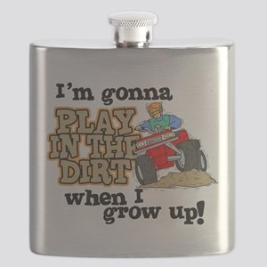 Play In The Dirt Flask