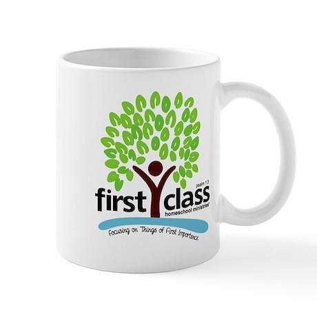 First Class Logo Mug