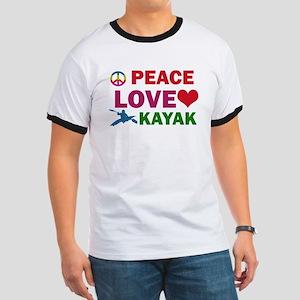 Peace Love Kayak Designs Ringer T