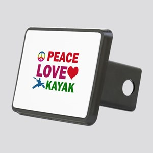 Peace Love Kayak Designs Rectangular Hitch Cover