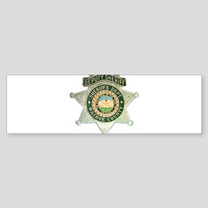 Washoe County Sheriff Bumper Sticker
