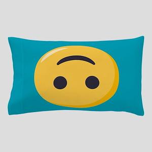 Emoji Upside Down Smiling Face Pillow Case