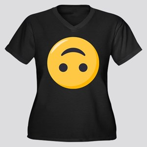 514478fce68 Emoticon Smile Women s Plus Size T-Shirts - CafePress