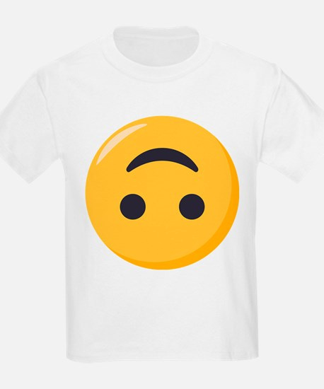 Emoji Upside Down Smiling Face T-Shirt