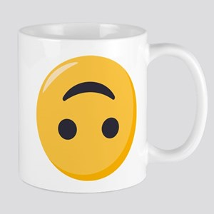 Emoji Upside Down Smiling Face 11 oz Ceramic Mug