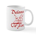 Delores On Fire Mug