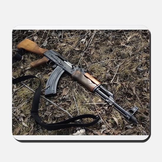 AK 47 Mousepad