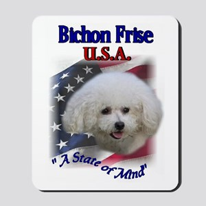 Bichon Frise Gifts Mousepad