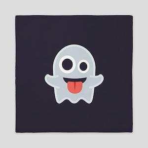 Ghost Emoji Queen Duvet