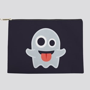 Ghost Emoji Makeup Pouch