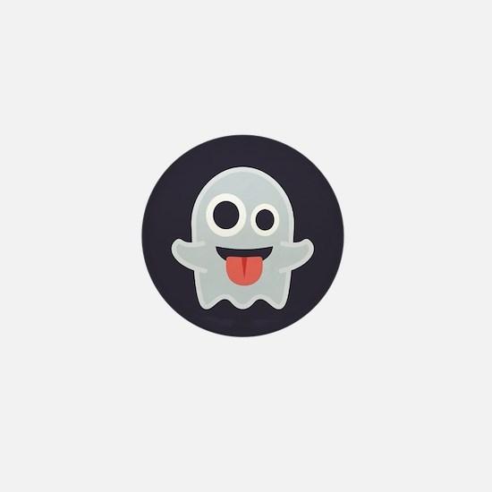 Ghost Emoji Mini Button