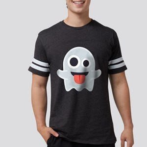Ghost Emoji Mens Football Shirt