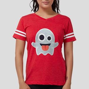 Ghost Emoji Womens Football Shirt