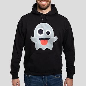 Ghost Emoji Hoodie (dark)