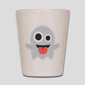 Ghost Emoji Shot Glass