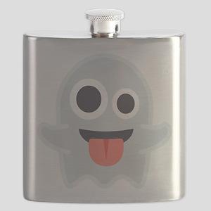 Ghost Emoji Flask
