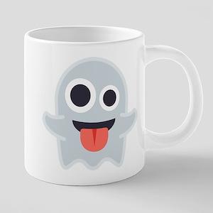 Ghost Emoji 20 oz Ceramic Mega Mug