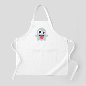 Ghost Emoji Light Apron