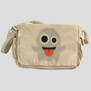 Ghost Emoji Messenger Bag