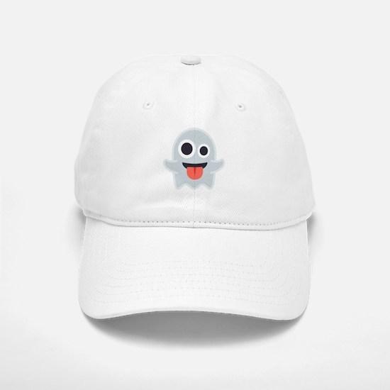 Ghost Emoji Baseball Baseball Cap